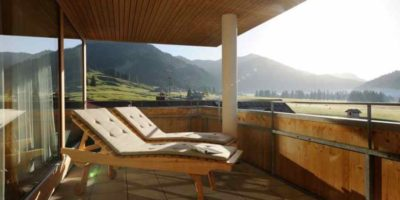 "4 Sterne Wellnesshotel ""Hotel Hubertus Alpin Lodge & Spa"""
